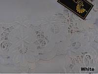 Скатерть на круглый стол 160хQ KAYAOGLU Gloria  белая