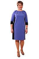 Сиреневое платье, цвета платья баллон,Пл 170-3.