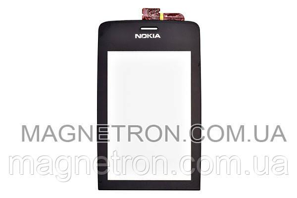 Сенсорный экран для телефона Nokia Asha 308, фото 2