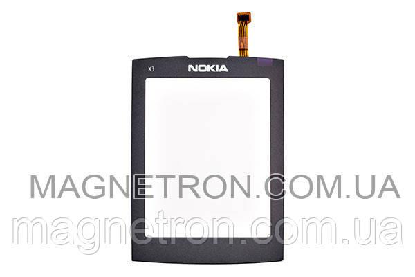 Сенсорный экран для телефона Nokia X3-02 1060173, фото 2