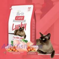 Brit Care Cat Lucky Im Vital Adult корм для кошек с курицей и рисом, 2кг