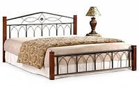 Кровать Миранда М двуспальная каштан (160х200)  (Domini TM)