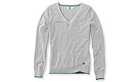 Женский свитер BMW Ladies' Golfsport Sweater Grey