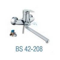Смеситель для ванны  BRAVО 40 COMFORT BS42-208 дл. гусак L-300 (EURO)