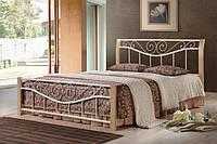 Кровать Ленора 1600*2000 М (крем)