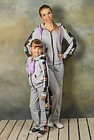 Спортивные костюмы для мамы и дочки