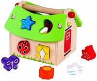 Игровой сортер-домик