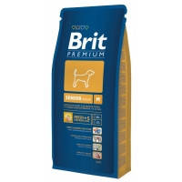 Brit Premium Senior M корм для стареющих (от 7 лет) собак средних пород, 15кг