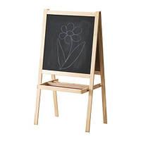 """IKEA """"МОЛА"""" Доска-мольберт, хвойное дерево, белый"""