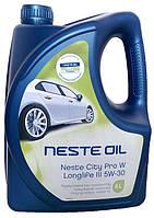 Моторное масло синтетика Neste (Несте) CityPro W Longlife III 5w30 4л.