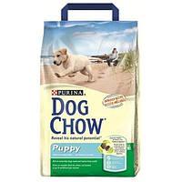 Dow Chow Puppy корм для щенков с курицей 14 кг