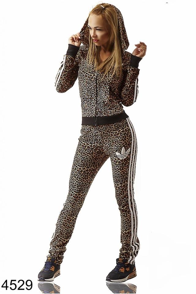 Женские Спортивные Костюмы Леопардовые Доставка