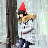 Зимняя куртка пуховик на девочку