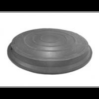 Люк канализационный полимерпесчаный 12тонн. (черный)