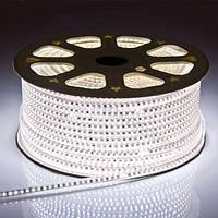 Светодиодная лента 220В SMD5050 60LED IP68 White