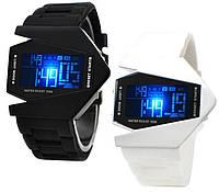 Наручные часы Fire Stealth, часы Истребитель, часы Стелс унисекс LED