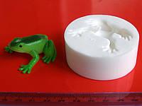 Молд для мастики Лягушка 3D