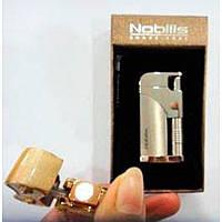 Необычный Практичный подарок другу Подарочная Зажигалка Турбо Nobilis 4001 Аксессуар сигарет Газовый огонь