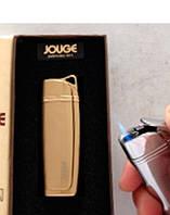 Необычный Практичный подарок другу Подарочная Зажигалка Турбо Jouge 3941 Аксессуар сигарет Газовая Зажигалка