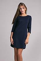 Молодежное платье синего цвета, фото 1