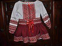 """Детский украинский костюм  """"Двоечка"""" (2-3 года)"""