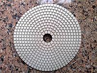 Алмазные гибкие шлифовальные круги, класс А, № 200, d 150 мм