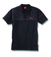 Мужская рубашка-поло на змейке Volkswagen Men's GTI Polo Shirt Black