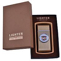 Новинка Подарочная Зажигалка XT 3833 Стильный дизайн Оригинальный Подарок другу Огонь в кармане Строгая форма