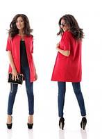 Пальто-пиджак  женское  Искусственный кашемир