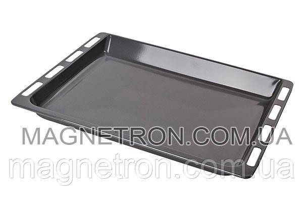 Глубокий эмалированный противень для духовки плиты Bosch 464.6x375x37mm 434178, фото 2