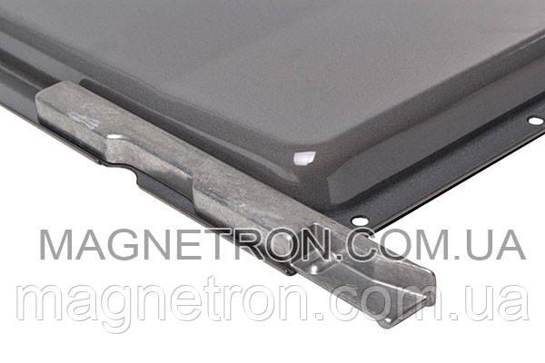 Противень эмалированный с фиксаторами HEZ341001 для духовок Bosch 438834, фото 2