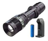Тактический фонарь Bailong BL-8455 Police Cree (набор)