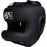 Боксерский шлем тренировочный RDX с бампером