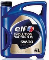 Моторное синтетическое масло ELF(эльф) Evolution Full-Tech LLX 5W-30 5л