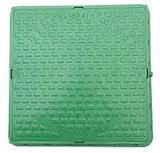 Люк квадратный зеленый 1.5т(зеленый)