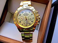 Часы наручные мужские  Rolex Daytona зотоло , магазин мужских часов