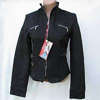 Женская куртка осенняя черная