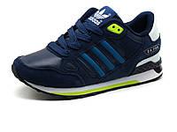 Кроссовки детские Adidas ZX750, синие, фото 1