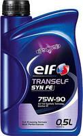 Трансмиссионное синтетическое масло Elf(эльф) 75W90 Tranself SYN FE 0.5л