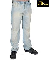 Демисезонные мужские джинсы ,светло-голубые