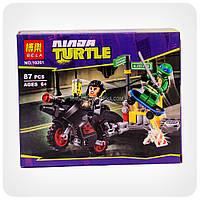 Конструктор Ninja Turtles «Побег Караи на мотоцикле»