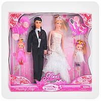 Кукла типа Барби «Джинни» (с женихом и двумя девочками)