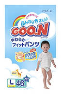 Японские подгузники GOO.N Большой для мальчиков