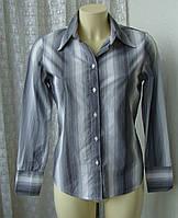 Рубашка женская офис хлопок бренд Next р.44