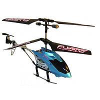 Вертолет на ИК управлении с пультом-перчаткой FALCON синий