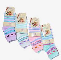Детские носки Узор. Размер 21 - 36. Разные цвета