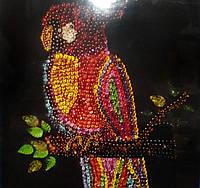 """Мозаика из пайеток """"Попугай"""", Пм-01-10"""