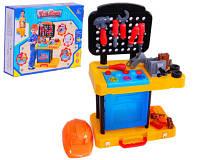 Игровой набор инструментов стол - чемодан с верстаком 2052