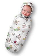 Пеленка-конверт Ontario Baby DEEP SLEEP Flannel 3 (6-9 мес)