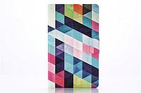 "[ Samsung Galaxy Tab  S 8.4"" T700 T705 ] Кожаный чехол-книжка для планшета Самсунг"